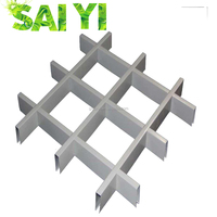 100*100 Decorative building material metal roof ceiling tile