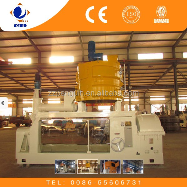20-500TPD castor oil making mill
