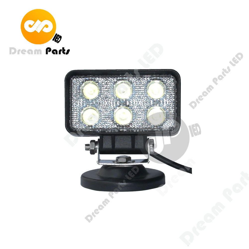 High Quality 4inch 18w Square Led