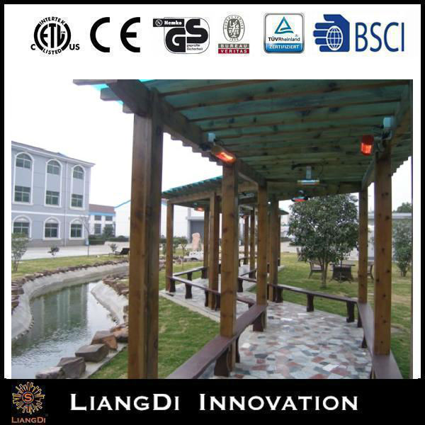 Waterproof Quartz Patio Outdoor Ceiling Infrared orchard heater