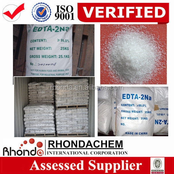 Manufacture supplier high quality edta -2na tetra sodium edta