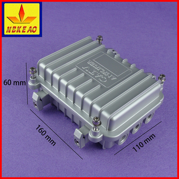 Electrical aluminum die cast waterproof enclosure