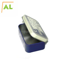 Rectangle Handmade Soap Metal Packaging Tin Boxes With Custom Design