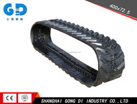 400x72.5x74 Rubber Track for Excavator Rubber track conversion system kits