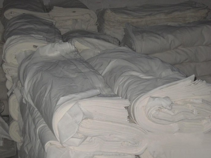 100 plain white cotton fabric for bed sheet / hotel bedding sets