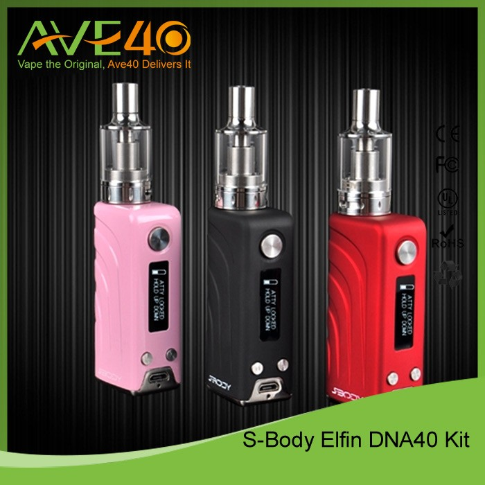 Brand Sbody 2016 E-cigarette DNA40 chip E-vapor world smallest box mod