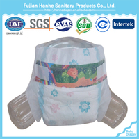 Ultra thick super absorbent good sleepy with high absorption baby diaper in china with good price