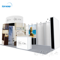 Detian Offer Modular Exhibition Booth Stand Equip Trade Show Circular Display