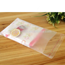 300pcs Clear Little Daisies Cookie Candy Packaging Self-adhesive Plastic Bags for Jewelry Package(S 2.7in,M 3.1in,L 4in)