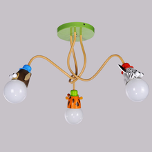 New design cartoon design child bedroom remote control art chandelier