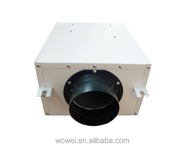 Ultra-silent ventilation fan duct type with CE for ventilation system,office,bank,hospital.