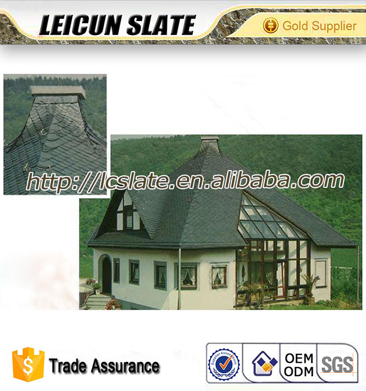 Natural Slate Stone Roof Tiles/Villa And Slope Project Roofing Tiles