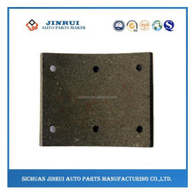 Dongfeng EQ1064 ceramic truck brake lining for front wheel
