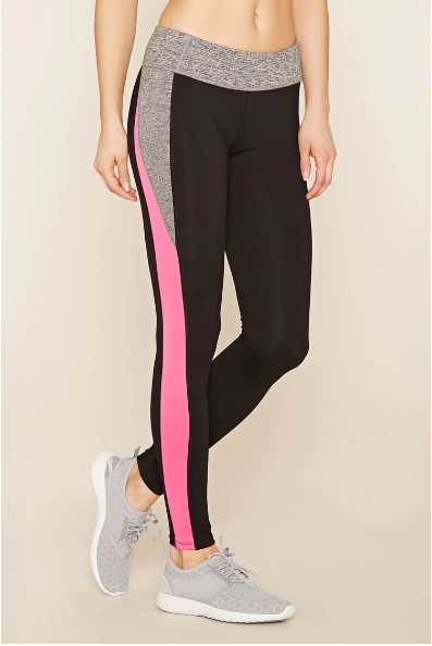 Contrast color fitness pants Designed for Dance, Surf, Run, yoga wear drop shipping