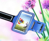 Unisex Neoprene Sport Running Armband Armlet Case Mobile Phone Arm Band Bags Cases Holder for Samsung Galaxy S4