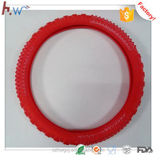 Silicone steering wheel cover for automobile