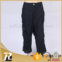 Factory price professional good serve cheap mens linen trousers