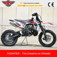 2015 9.0HP 2 stroke Kick Start 50cc Pit Bike Motorcycle with KTM engine (DB502B)
