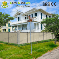 Wood Plastic Fence/Enclosure Wall/WPC/High Quality/Cheap Price