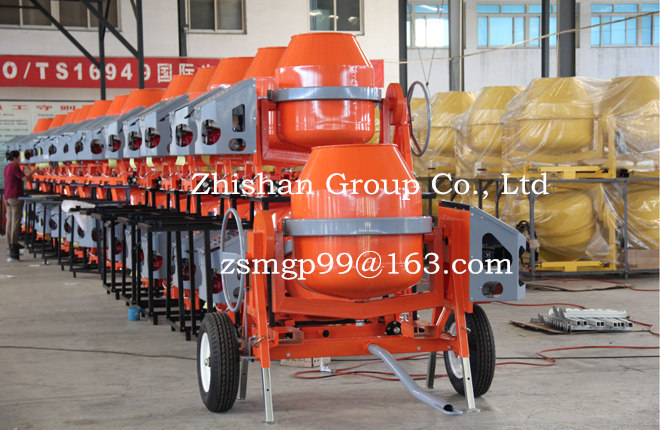CMH320(CMH50-CMH800) Portable Electric Gasoline Diesel Zhishan Cement Mixer