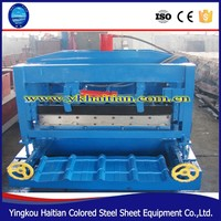 Galvanized Gutter Roofing Sheet Machine