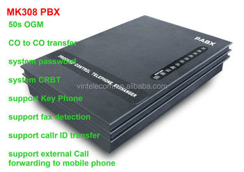 China PBX factory VinTelecom VinTelMK308 PABX with Key Phone function /308MK- New