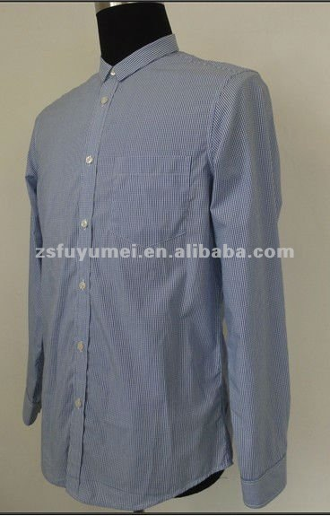 high quality 100% cotton famous brand shirts for men
