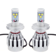 High Power 68W 5000LM LED H4 Canbus Error Free Hi/lo Headlight Lamp Kit