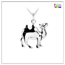 Custom 2.5D shape Enameled Camel Charm for necklace bracelet