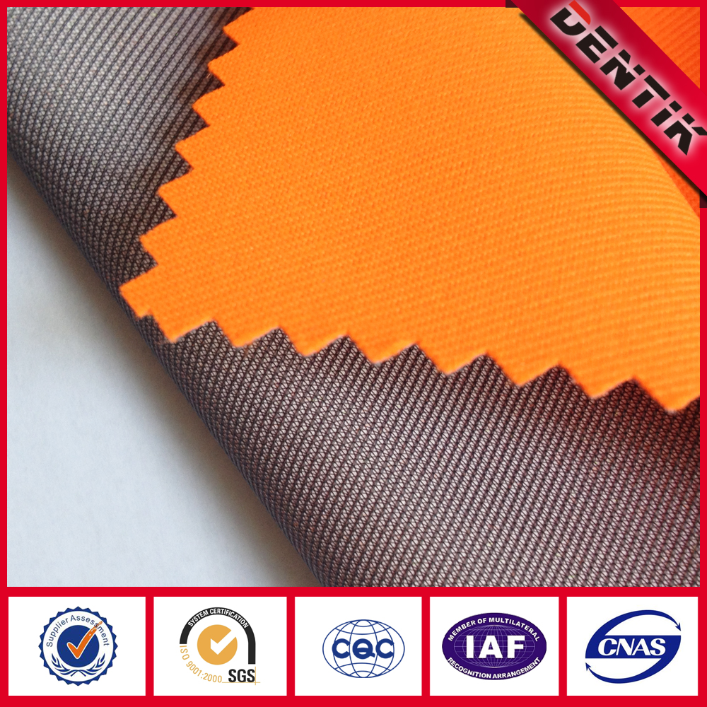 Fluoresence PTFE Laminated 100% Polyester Twill Fabric with Waterproof Breathable Windproof