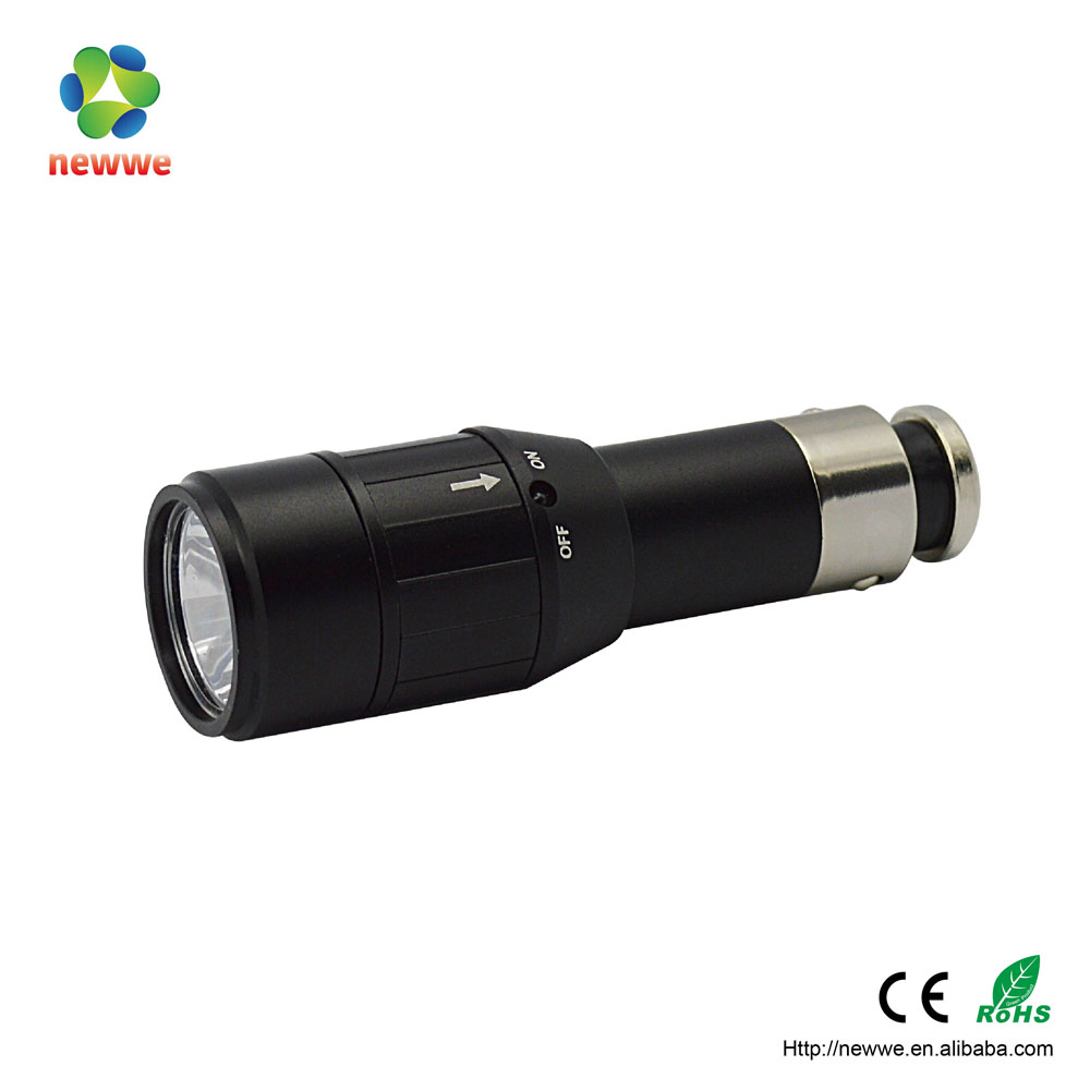 China 10-year-experience factory supply mini rhinestone flashlight