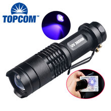 laser pointer 365nm uv led torch night hunting torch light toshiba style diving led diving torch