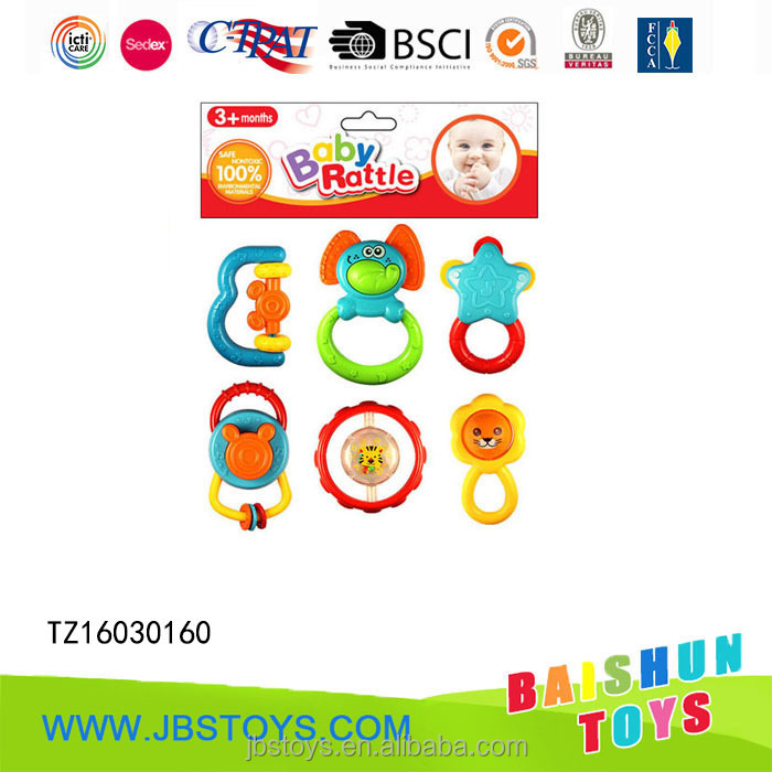 6pcs Toys for Babies Hand Bells TZ16030160