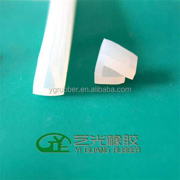 silicone rubber edging protective strip