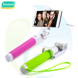 Photo Taking Stick Camera Aux Cable Selfie Stick for sale