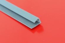 XINHAI PC U Profile Polycarbonate Sheets Accessories Terminal H Profile