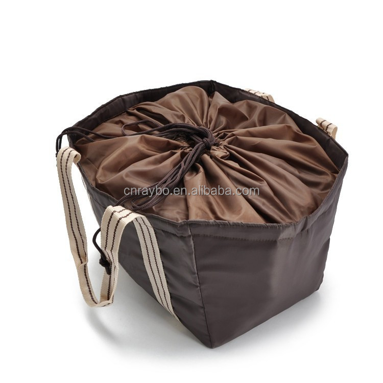 OEM promotional nylon drawstring cooler bag