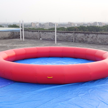 Hot product small inflatable factory round pool side,swimming pool, water side pool
