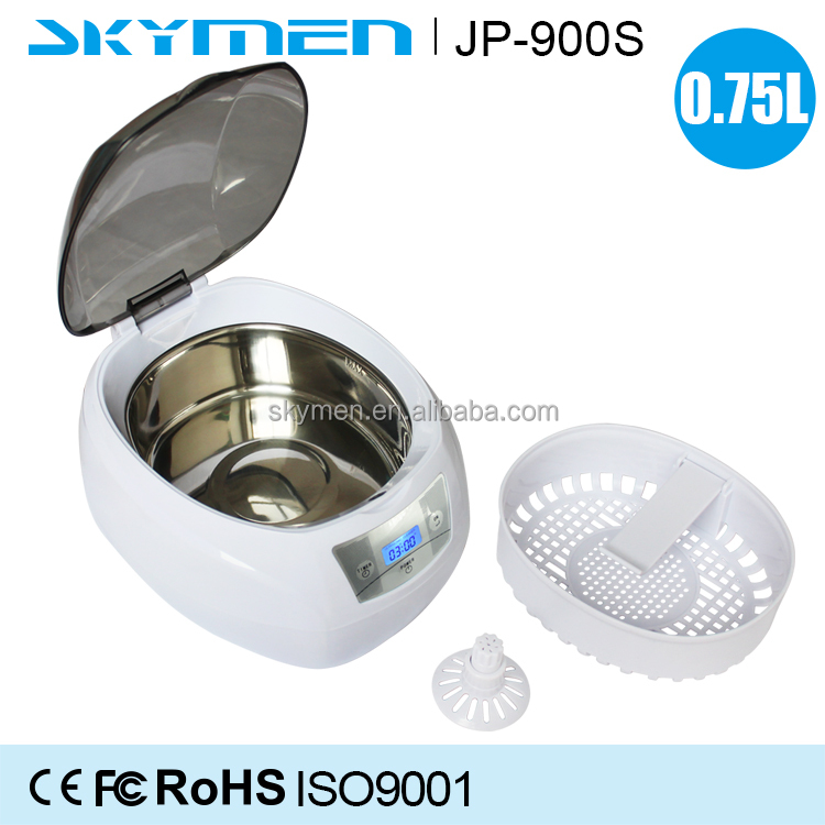 Wholesale 750ml small power JP-900S jewelry cleaning machine jewellery ultrasonic cleaner