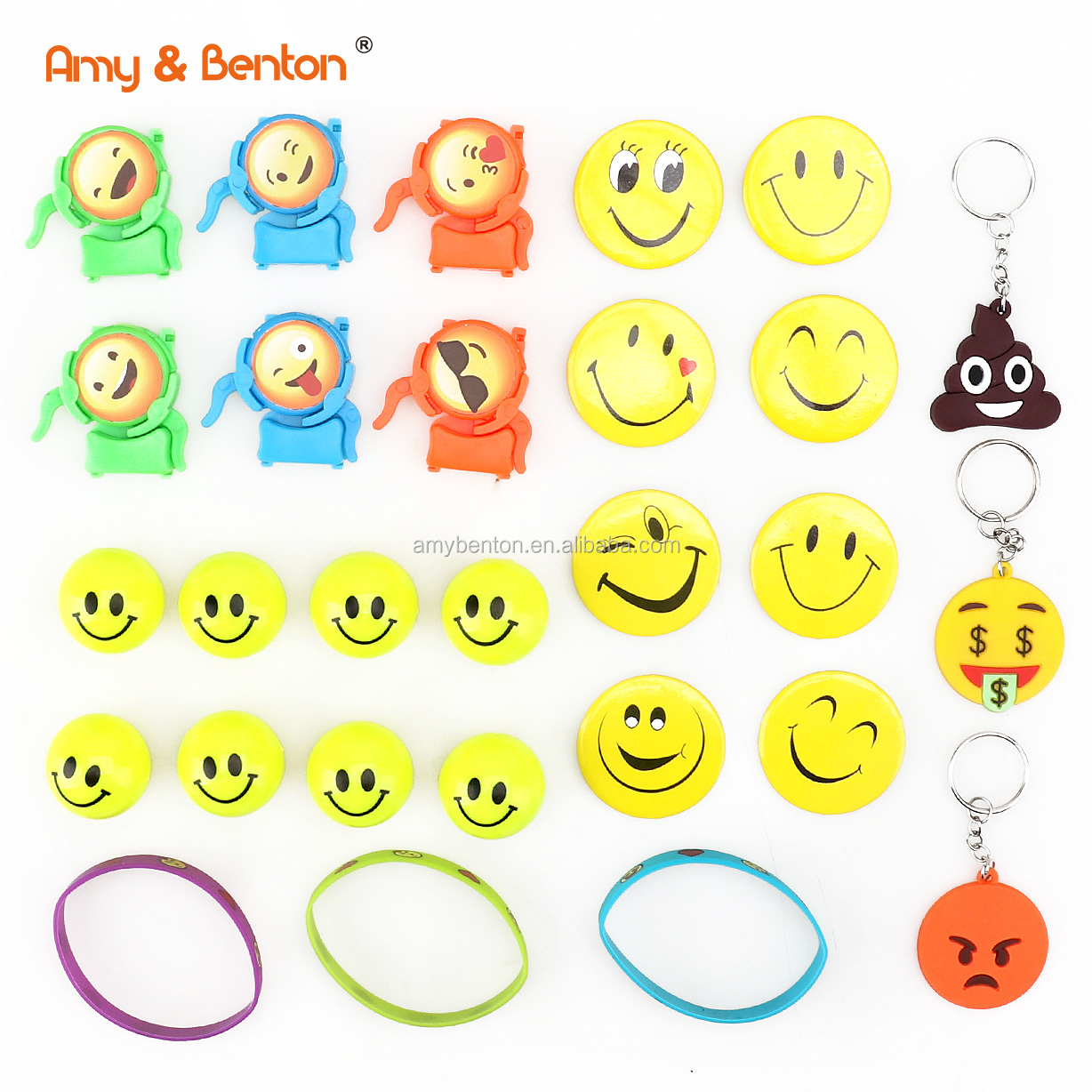 Wholesale Promotional Toys Emoji Party Bag Birthday Supplies For Kids