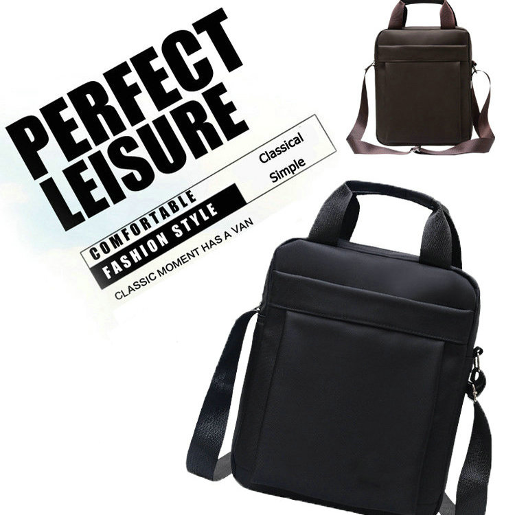 Portable Fashion Business Briefcase Single Shoulder Oxford Cloth Laptop Briefcase