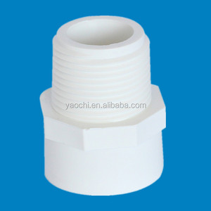BOYAN zhejiang taizhou huangyan plastic pipe fitting for bathroom ASTM sch 40 male adapter