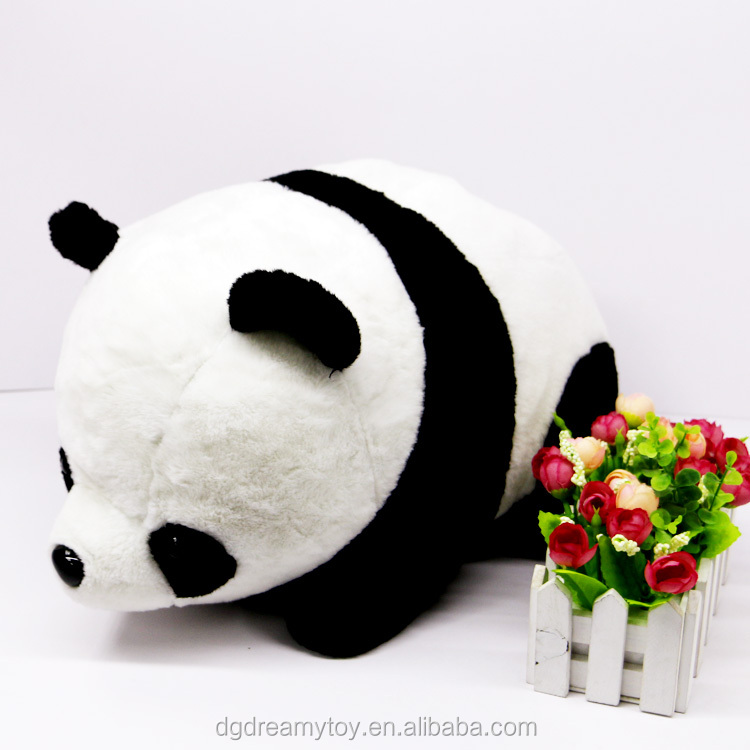 Cute fat soft panda plush toy for children