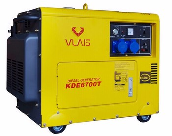 Top sale 5kva  portable diesel silent power generator for school home use
