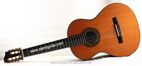 "39"" concert excellent Aiersi Electrical 7-String all solid Classical Guitar"