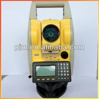 Latest promotion for china made total station PJK PTS120R Reflectorless low price total station land surveying intrument