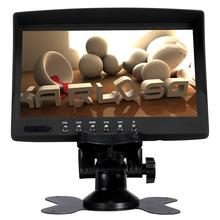 7 inches tft color car lcd roof mounted monitor with av usb