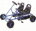 pedal go kart with 2 seats for kids bodybuild kart F2110