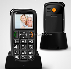 wholesale mobile phone large button cellphone with loud volume for old man