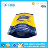 Eco-friendly high quality stand up pouch with zipper for dog food packaging bag